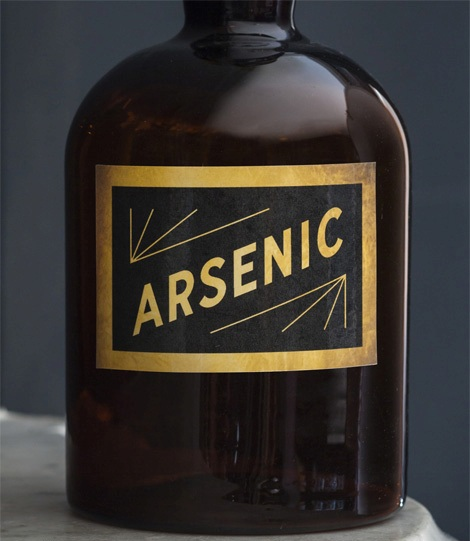Arsenic bottles