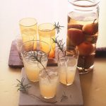pear and rosemary cocktails martha stewart