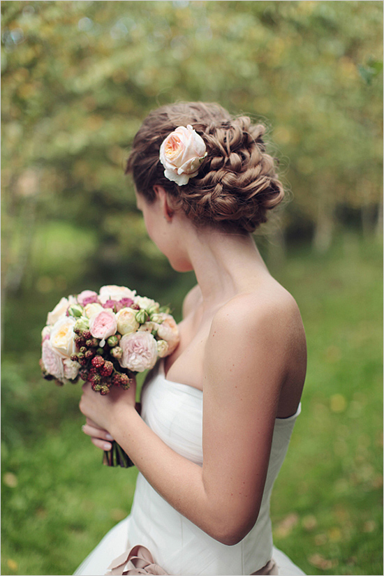 romanticweddinghair