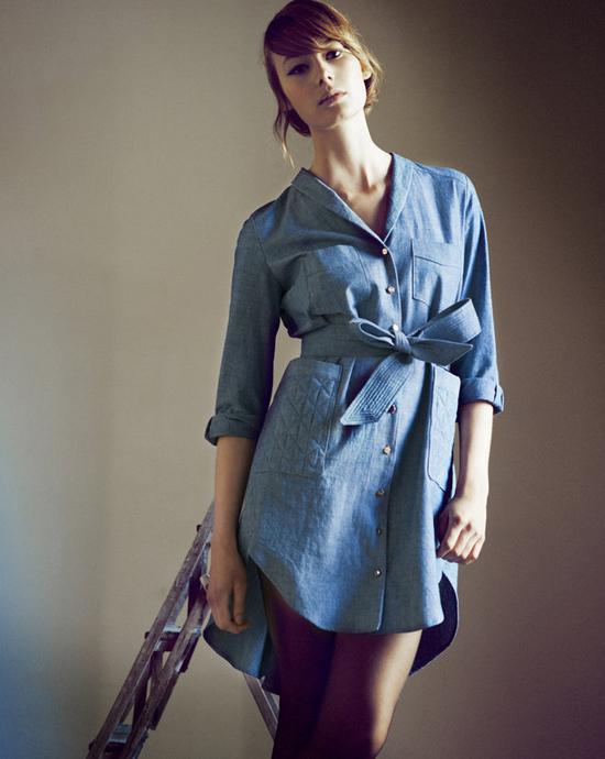 honey-kennedy-heinui-indigo-girl-aw-2013-12 shird dress perfection