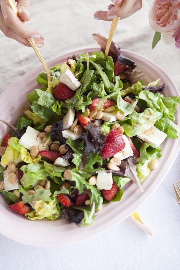 Strawberry-Brie-Salad