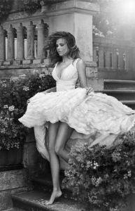 fairytale wedding dres short long