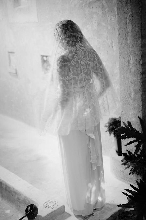 Project Fairytale: Sunday Morning Photo Inspiration Lace Veil