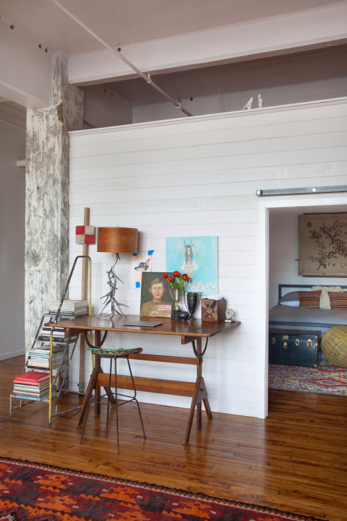 Project Fairytale: An Eclectic Philadelphia Loft