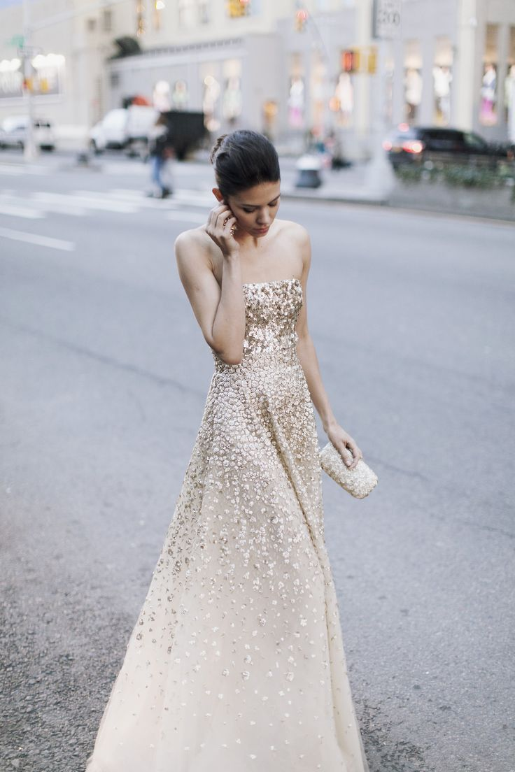 Project Fairytale: Bandeau Sequined dress