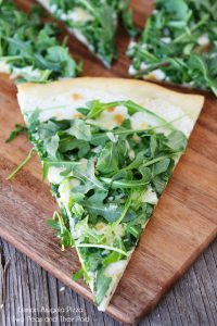 Project Fairytale: Lemon Arugula Pizza