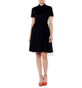 smart casual shirt dress hobbs navy