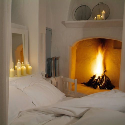 fireplace bedroom home cozy warm and fuzzy project fairytale