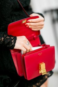 red celine box bag project fairytale