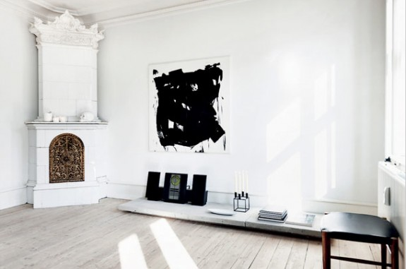 gorgeous interior simple black and white