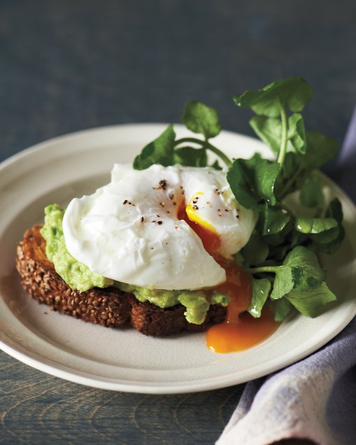 Project Fairytale: Poached eggs, avocado and toast