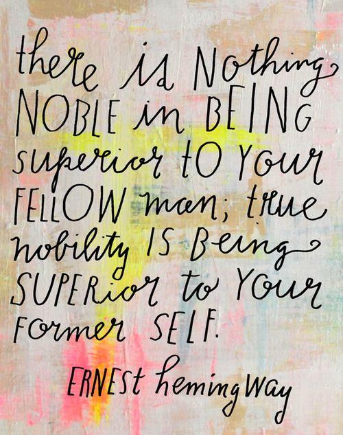 Project fairytale: Ernest Hemingway
