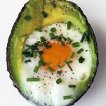 baked avocado-egg
