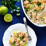 Project Fairytale: Baked Shrimp with Lime and Cilantro