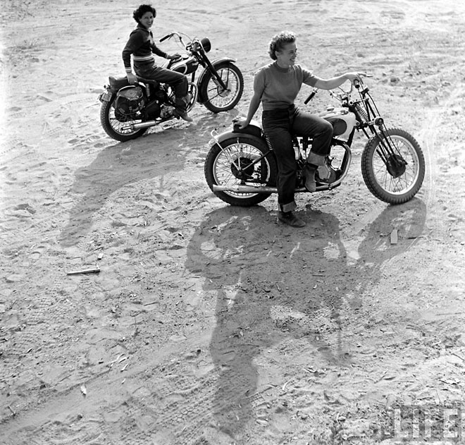 Project Fairytale: Bike Girls 1949 Life Magazine