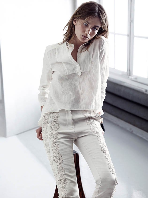 Andreea Diaconu for H&M Consciuous Srping 2014 || Project Fiarytale