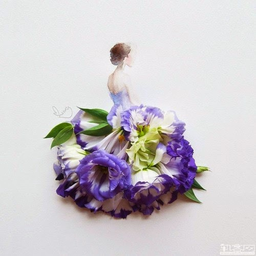 Project Fairytale: Flower Dresses