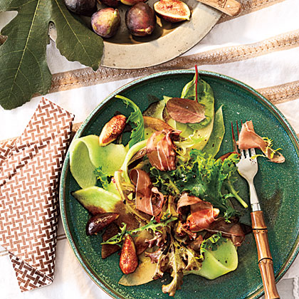 Project Fairytale: melon, Fig and Prosciutto Salad