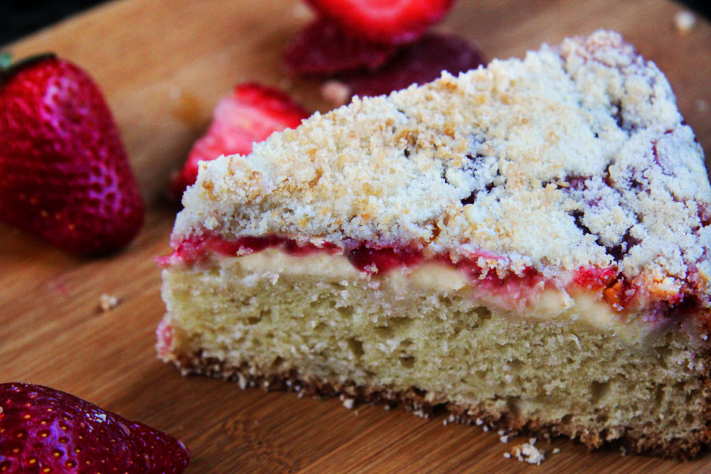 Project Fairytale: Strawberry Cream Cheese Coffee Cake