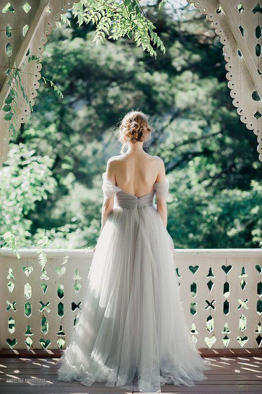 Fairytale Dress: Light Grey Mist – Project FairyTale