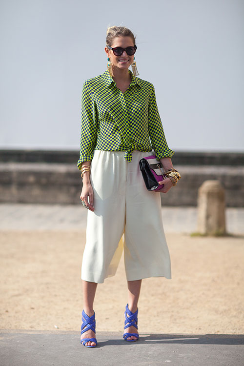Style Inspiration: Culottes for the summer