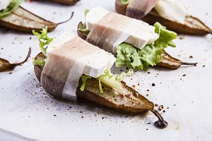 Project Fairytale: Baked Pears with Brie and Prosciuto