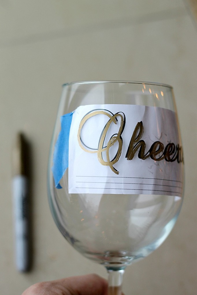Project Fairytale: DIY ornated glasses using Sharpies