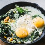 Project Fairytale: Baked Eggs with Spinach
