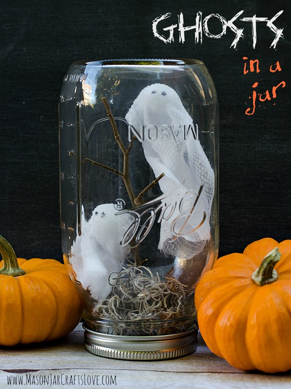 Project Fairytale: Scary Mason Jars