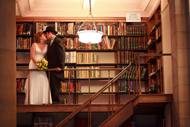 Project Fairytale: Library Wedding