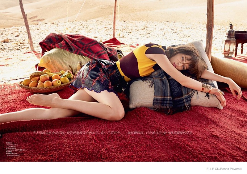 Project Fairytale: Coco Rocha for ELLE China