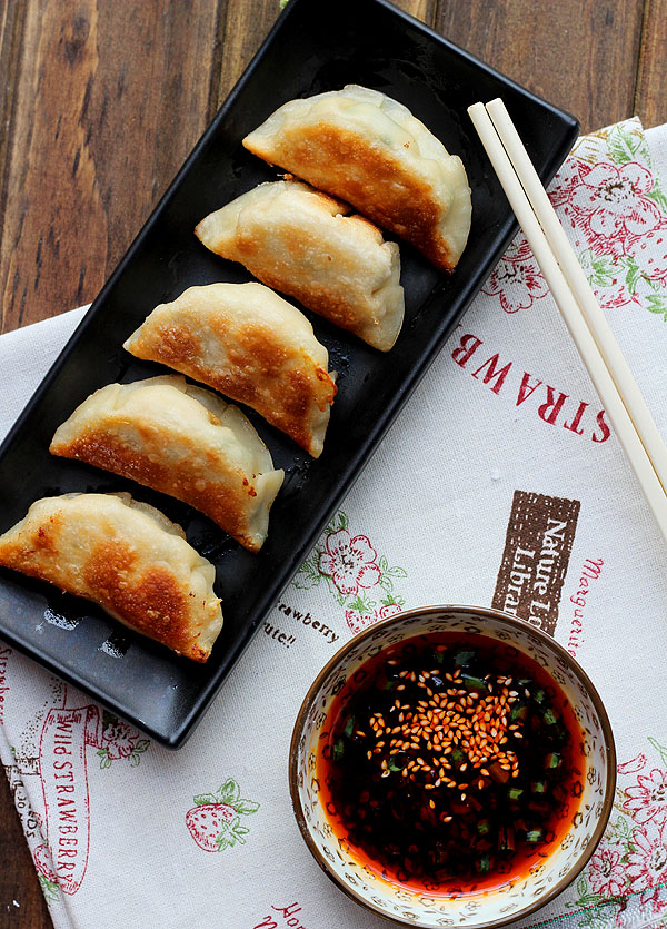 Project Fairytale: Chive and Pork Potstickers