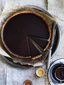 Project Fairytale: Dark Chocolate Tart