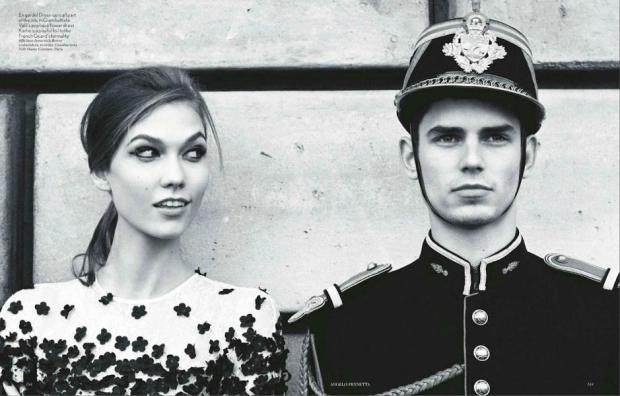 Project Fairytale: Karlie Kloss - An American in Paris