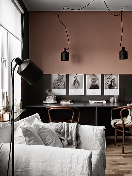 Project Fairytale: A Black, Beige and Pink Stockholm Apartment