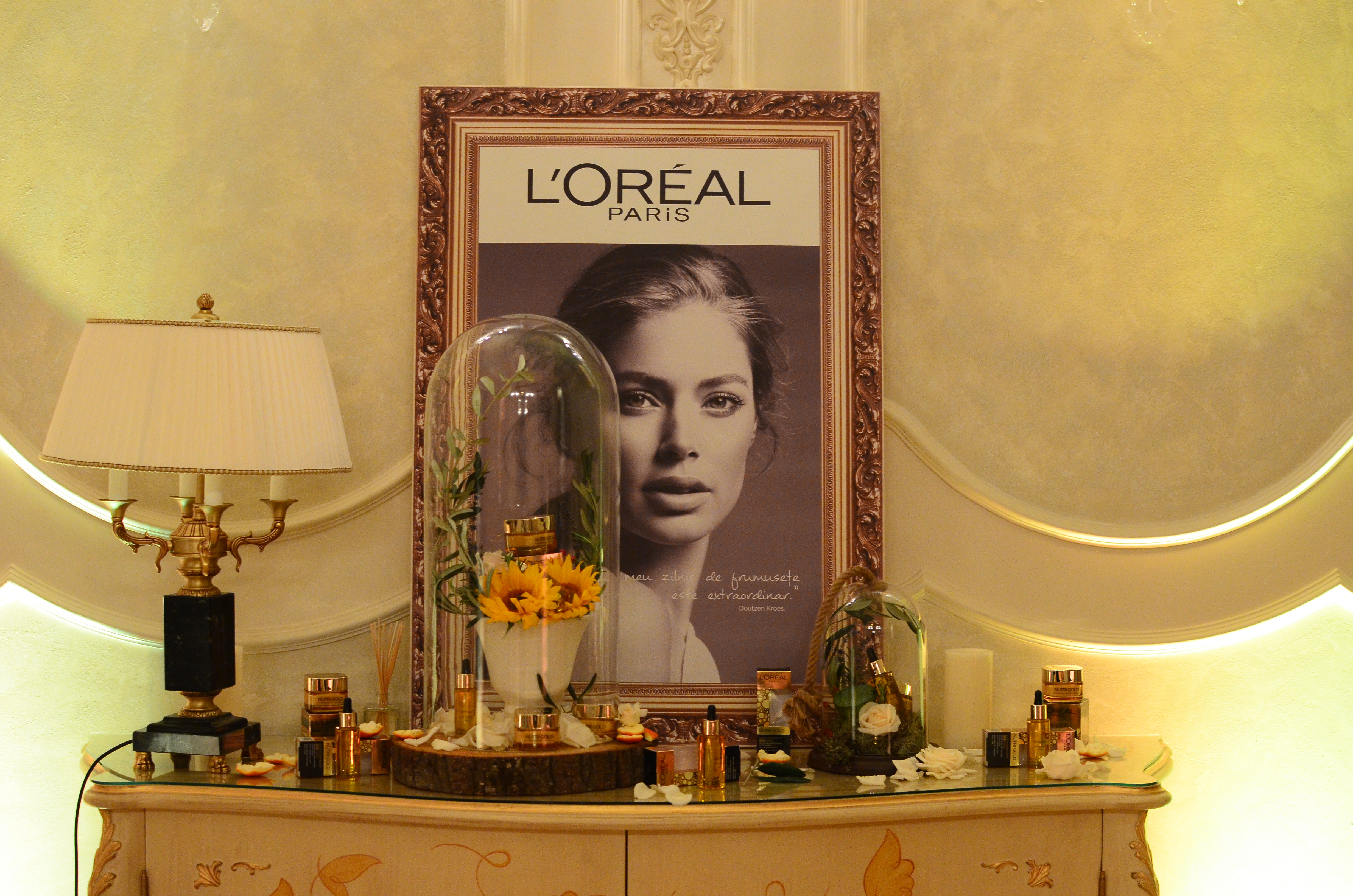 L'Oréal Huile Extraordinaire Lauch Bucharest