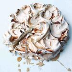 Coffee Meringue-Ice Cream Cake