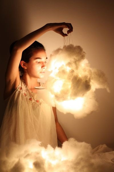 DIY Cotton Clouds | Project Fairytale