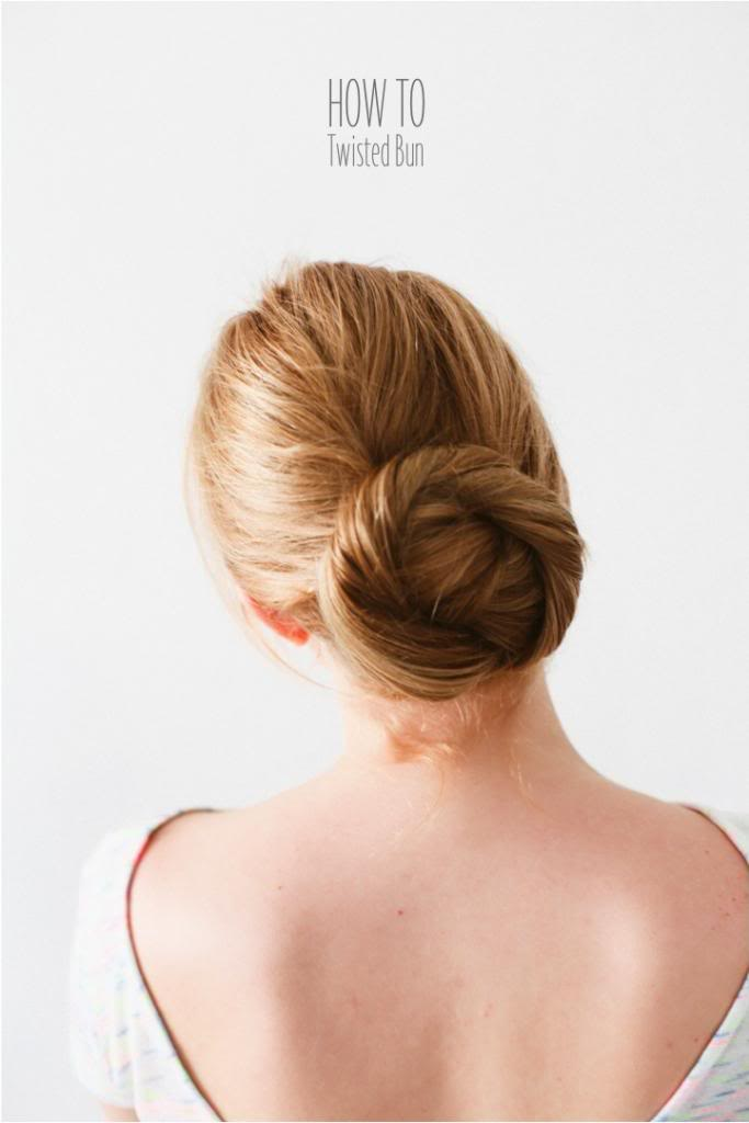 DIY: Twisted Bun | Project Fairytale