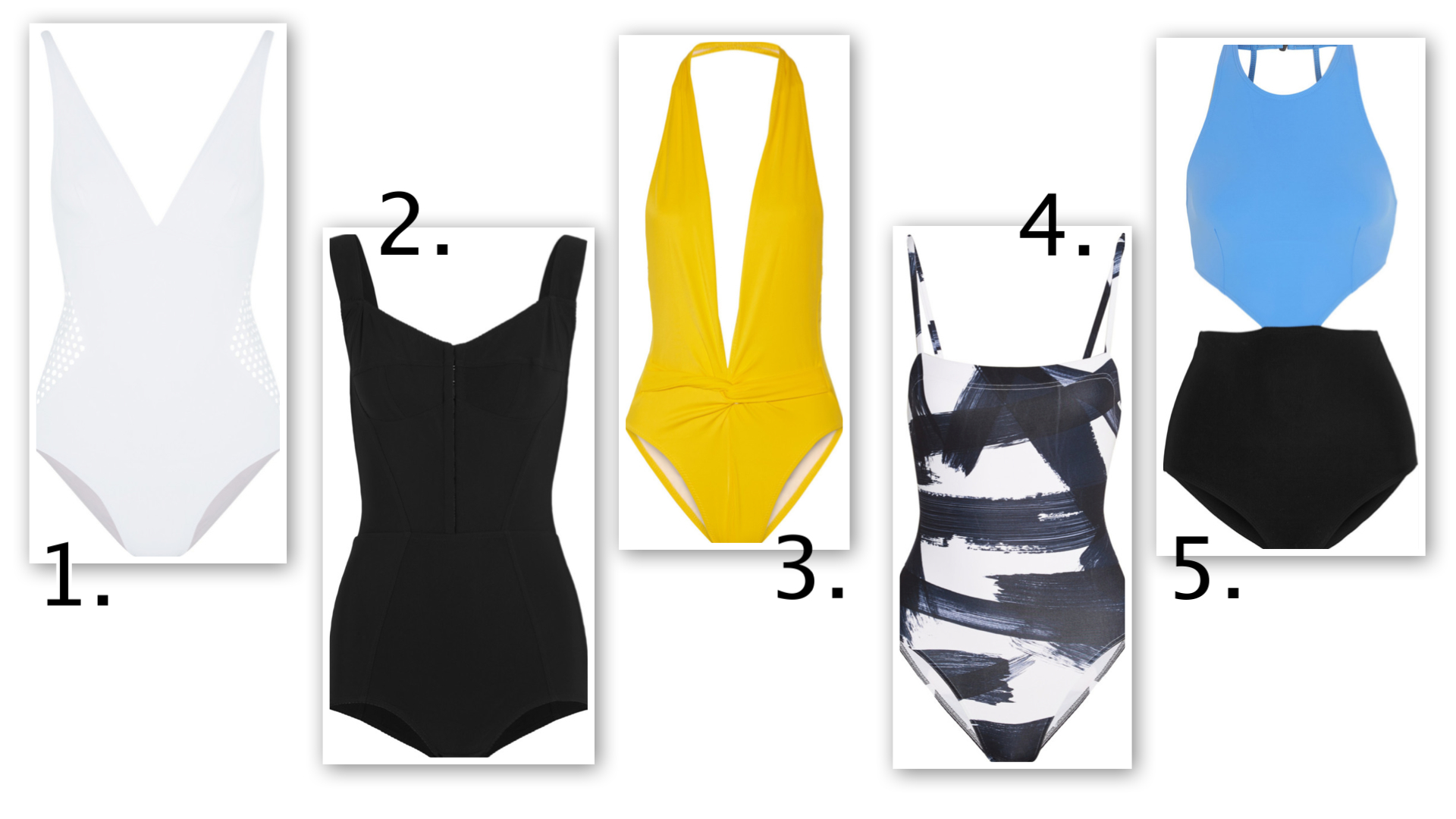 Top 10 one piece swimsuits for 2015