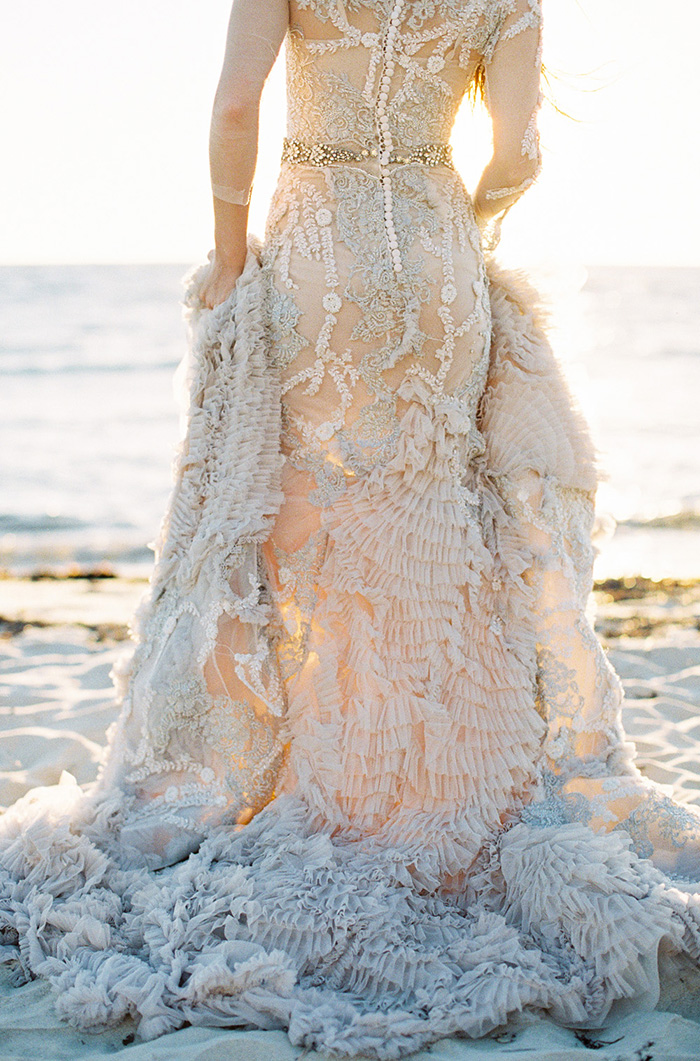 Fairytale dress mermaid project fairytale for Ocean themed wedding dress
