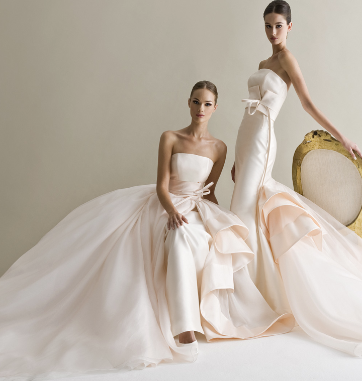 Meaning Of White Wedding Dress In A Dream : Fairytale dresses bold antonio riva wedding project