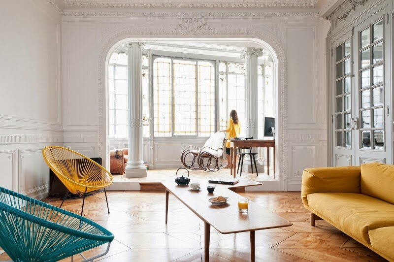 Interiors chic apartment in bordeaux project fairytale for Deco appartement chic