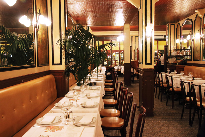 Fairytale destinations 3 art nouveau paris restaurants to try on your next t - Restaurant le lutetia paris ...