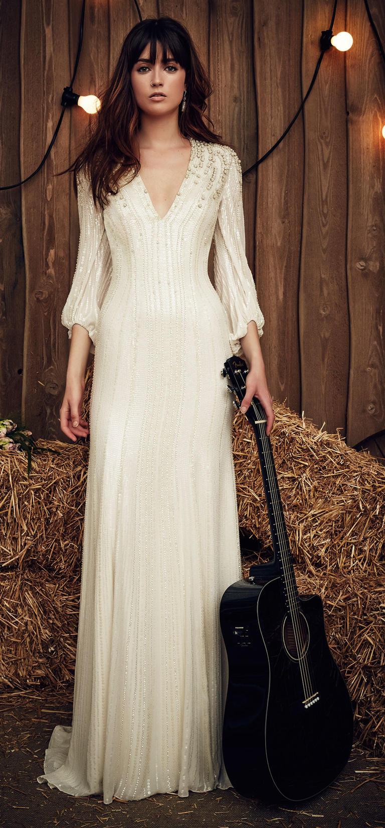 @pfairytale Jenny Packham Bridal Spring 2017