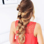 @pfairytale How to make a bohemian bow braid?