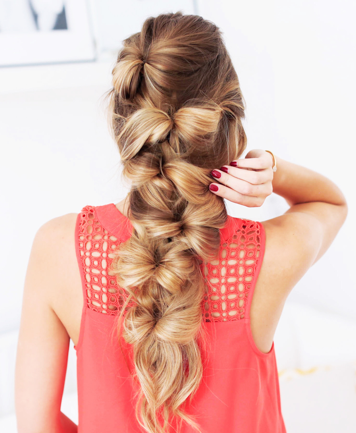 @pfairytale How to make a bohemian bow braid?
