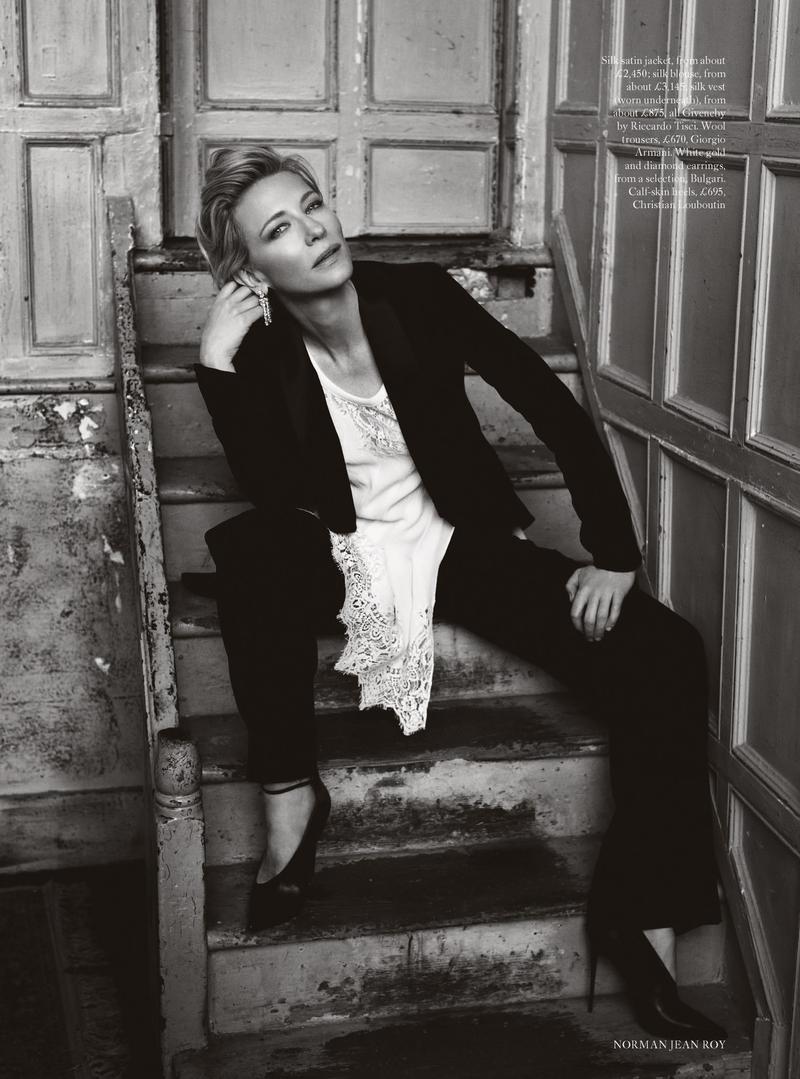 @pfairytale Cate Blanchett for HB UK