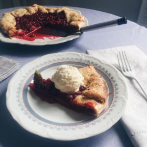 @pfairytale Red Currant Galette