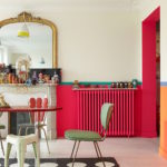 @pfairytale Colorful cast iron radiator